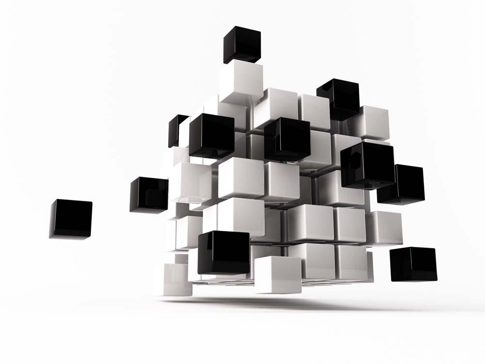 Кубы в воздухе