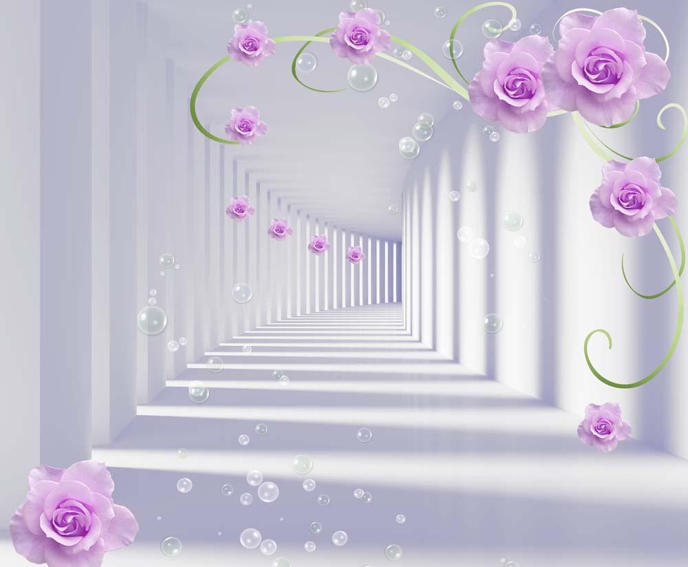 Тоннель с цветами