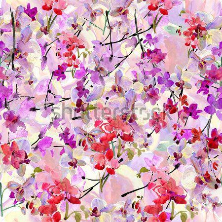 Сакура орхидеи