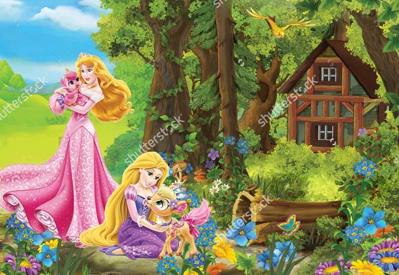 Принцессы в саду