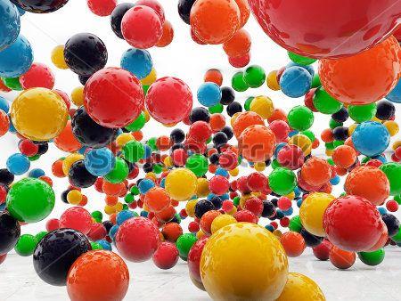 Яркие шары