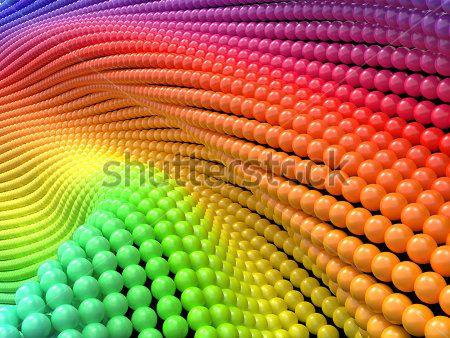 Цветные бусины