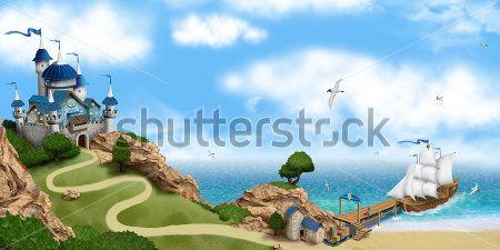 Замок у моря