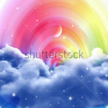 Радужное небо