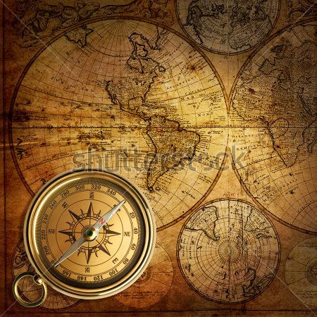 Античная карта