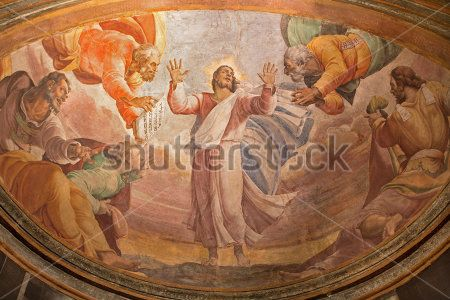 Фреска в церкви