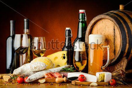 Винное пиво и сыр