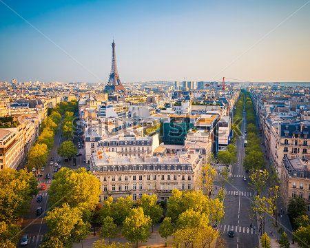 Панорама на Париж