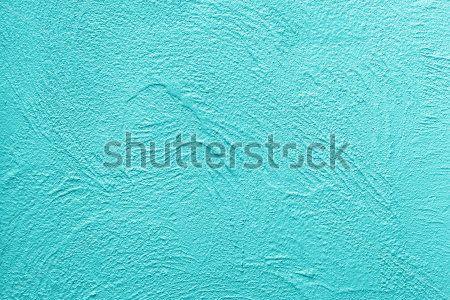 Голубая штукатурка