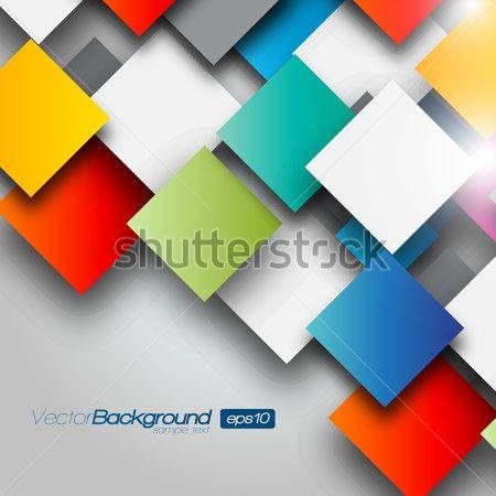 Разноцветные квадраты