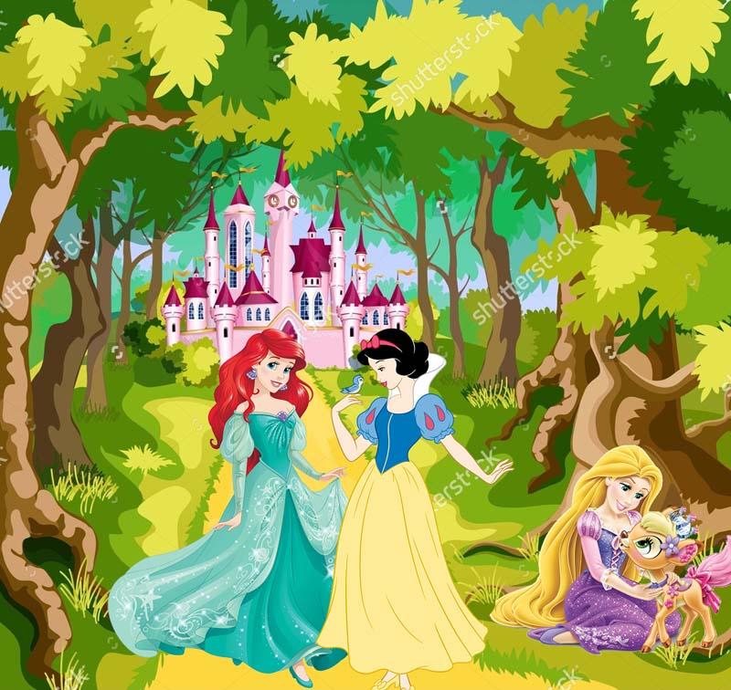 Принцесса и Белоснежка