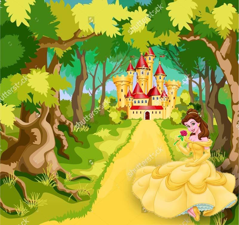 Замок и принцесса