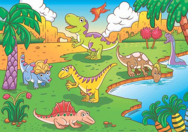 Маленькие динозавры