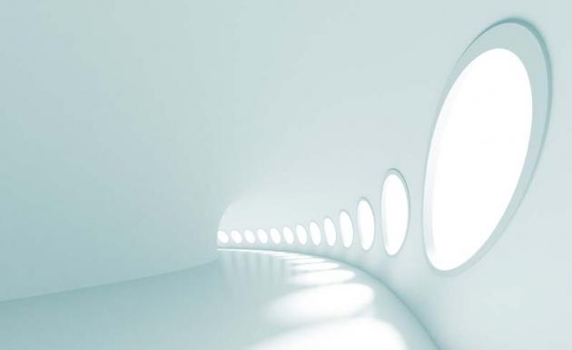 3D тоннель с кругами