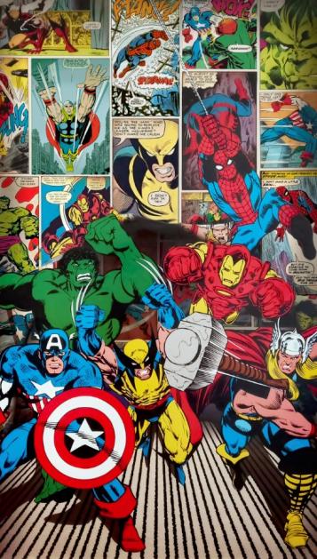 Комиксы с супергероями