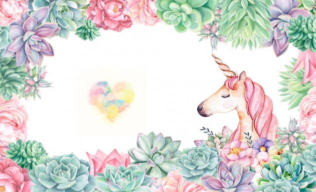 Единорог с сердцем