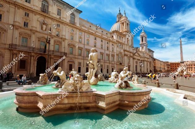 Фонтаны в Риме