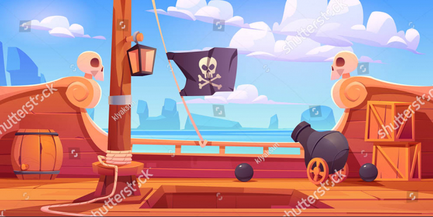 Палуба корабля