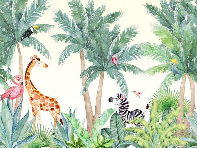 Животные в парке