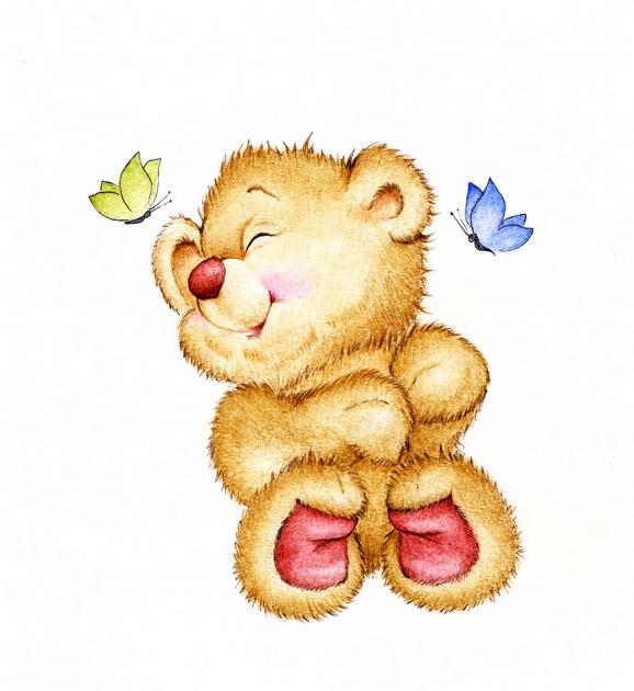 Милый медвежонок