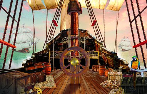 Пиратский корабль палуба