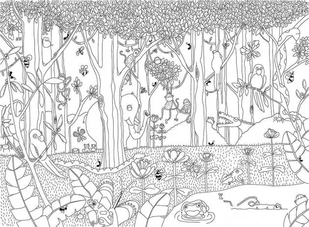 Нарисованные джунгли