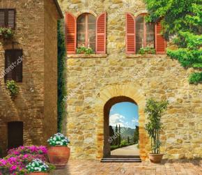 Картины Старый дом
