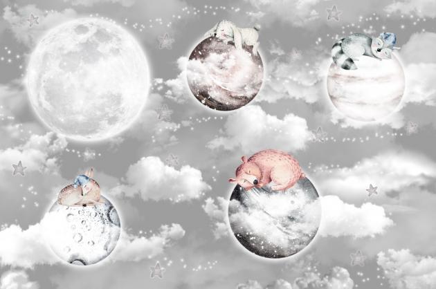 Животные на облаках
