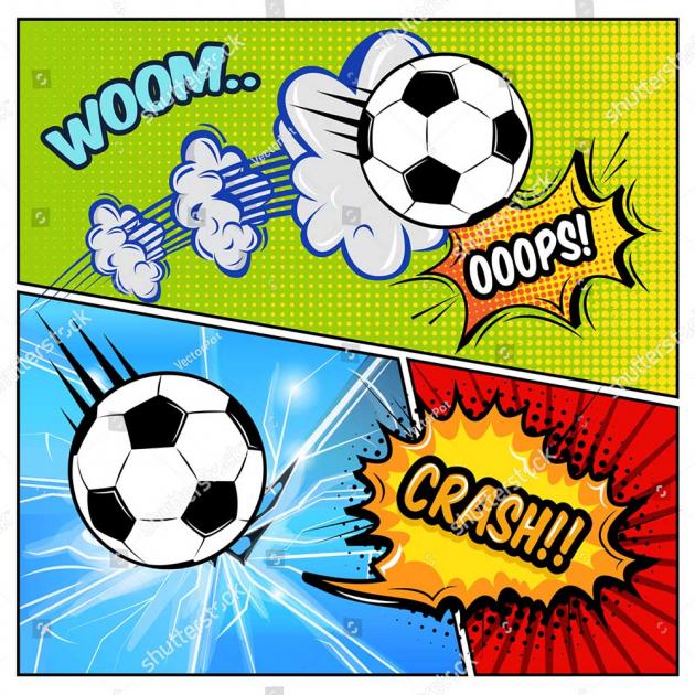 Футбольный комикс