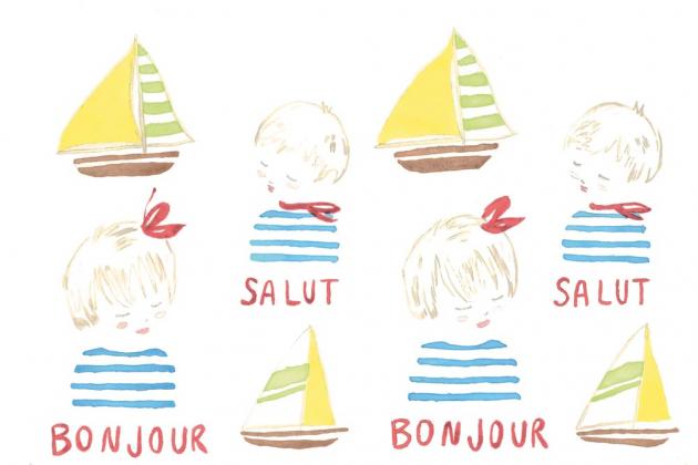 Дети и кораблики