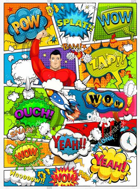 Комиксы с суперменом