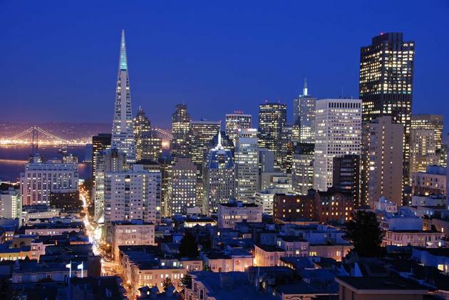 Ночной Сан Франциско