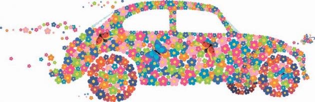Цветочная машина