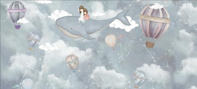Девочки с китом