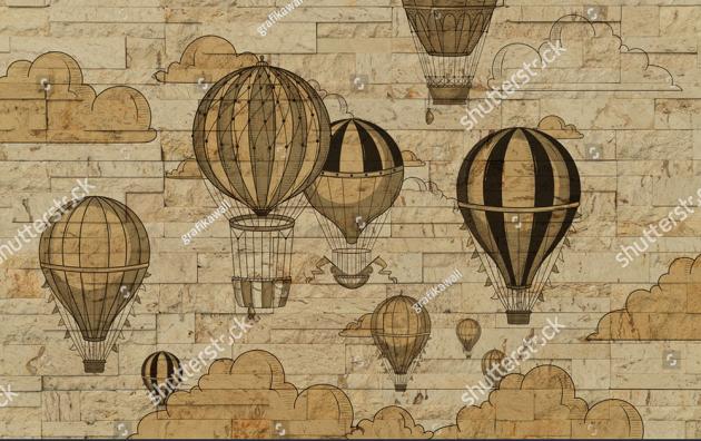 Старинные воздушные шары