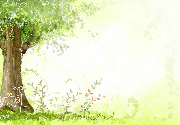 Под деревом на поляне