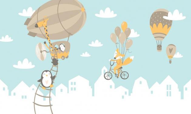 Звери на воздушных шарах