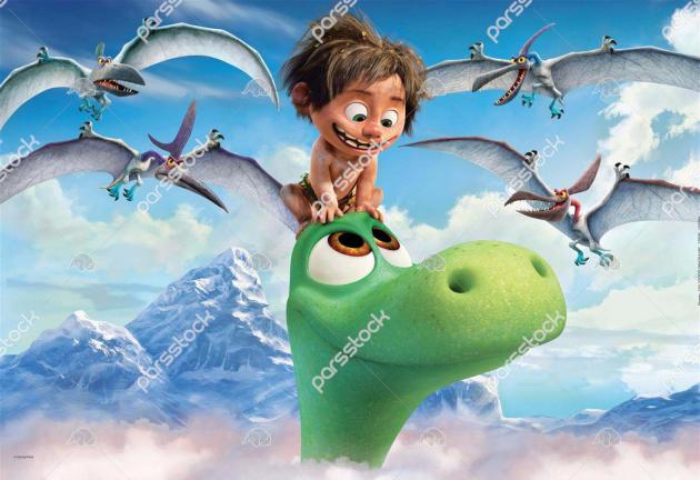Динозавр и ребенок