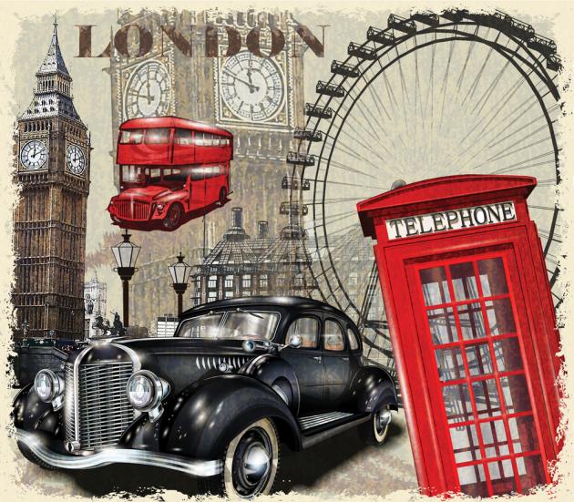 Ретро Лондон