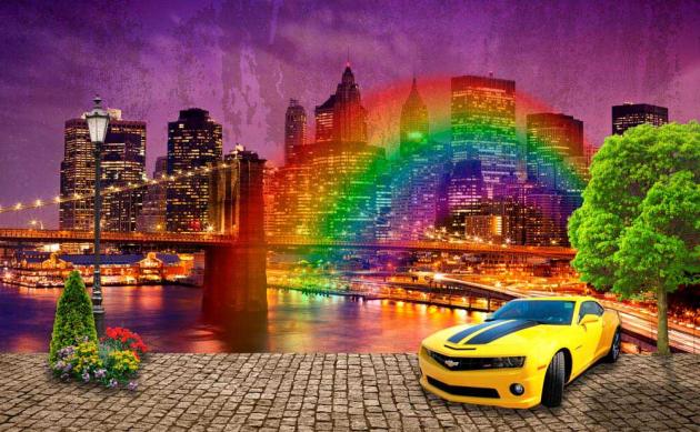 Машина в Нью-Йорке