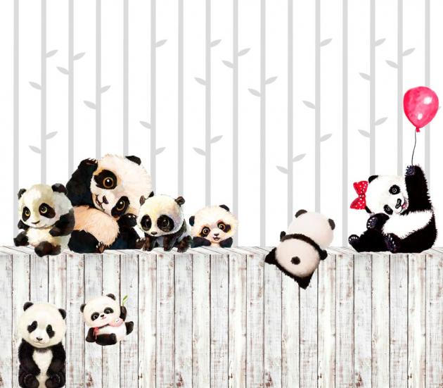 Детские панды