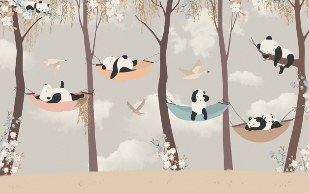 Панды на дереве