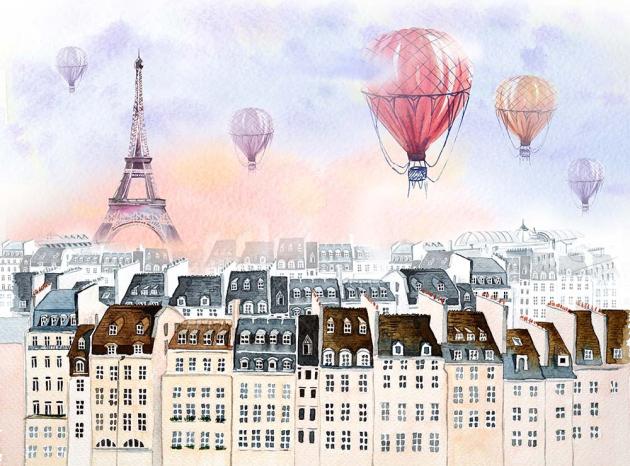 Парижские дома