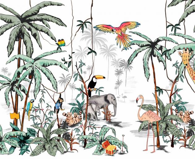 Рисованные джунгли