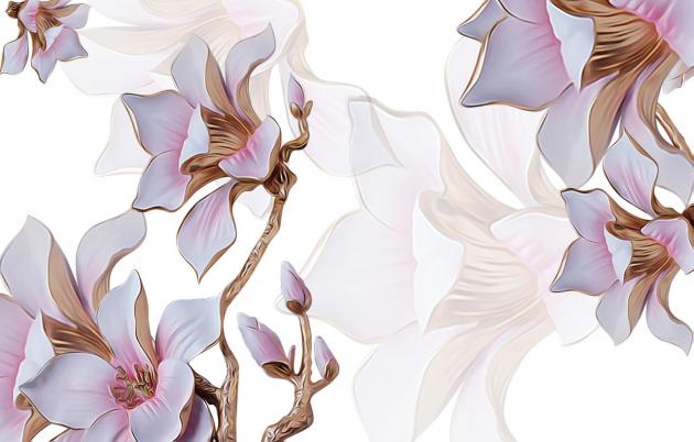 Золотые лилии