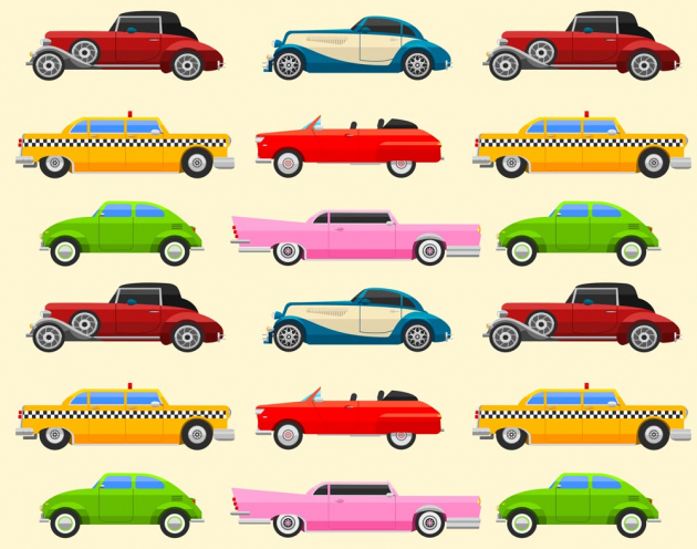 Ретро машины