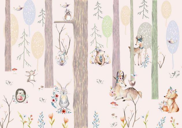 Лесные зверушки