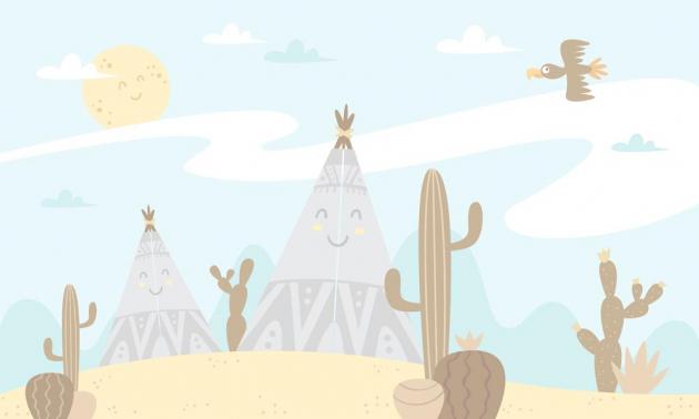 Солнце в пустыне