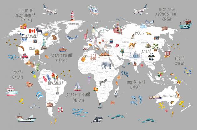 Океаническая карта