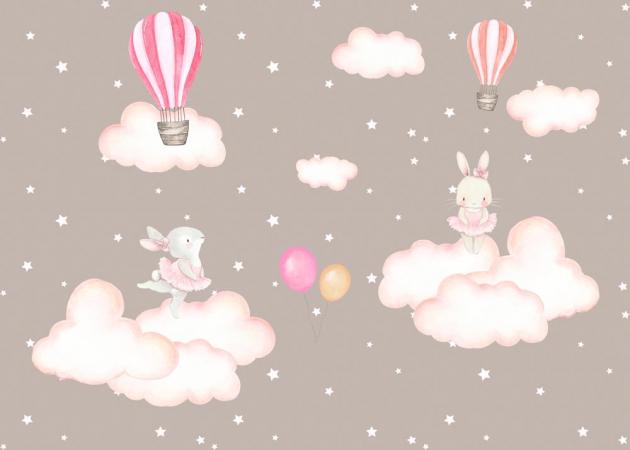 Зайчики на облаках
